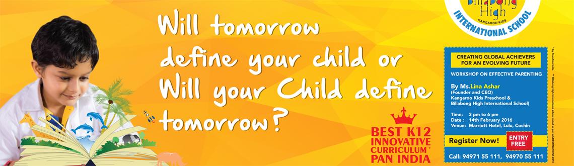 Workshop on Effective Parenting by Ms. Lina Ashar