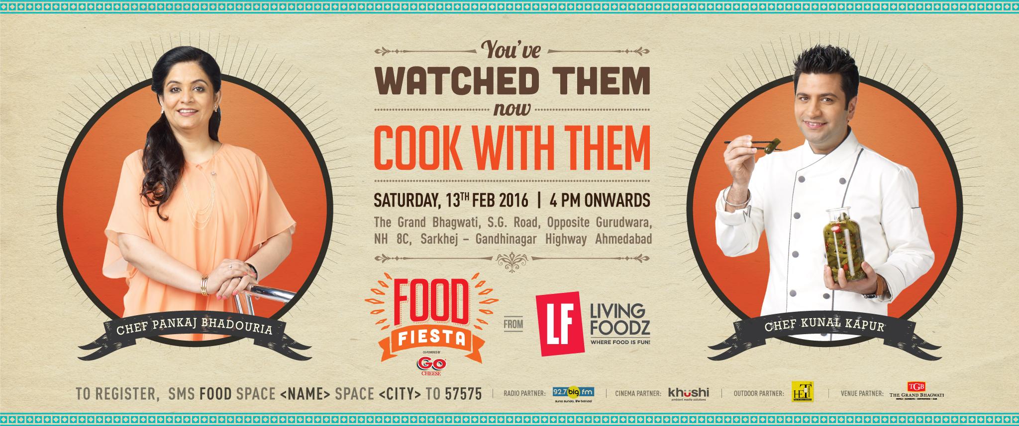Food Fiesta from Living Foodz Ahmedabad Copy Copy