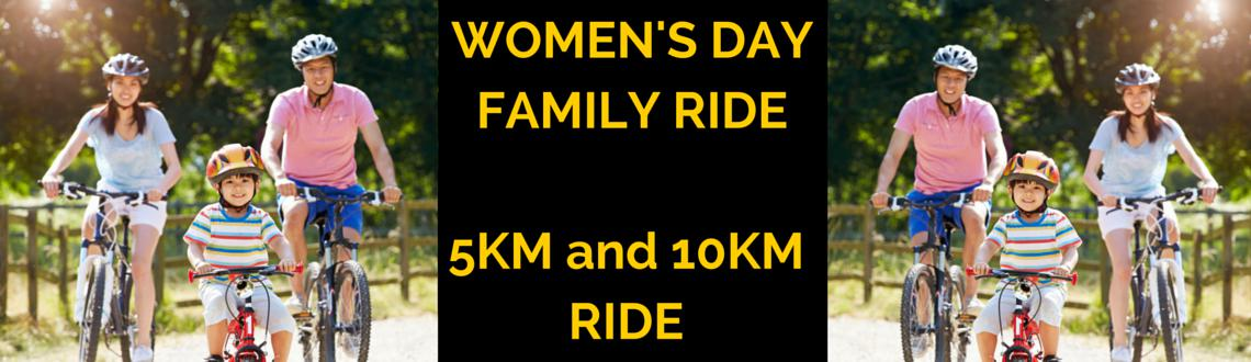 Womens Day Family Ride