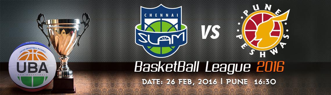 UBA Season 2 - Chennai Slam Vs Pune Peshwas