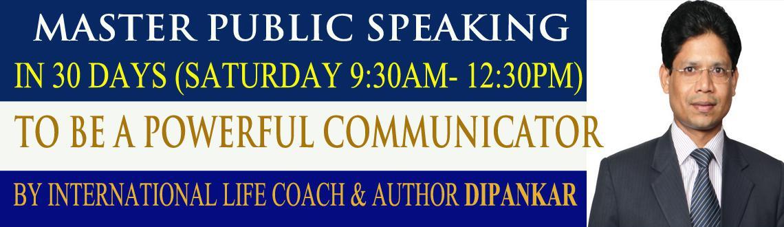 Mastering Public Speaking in 30days