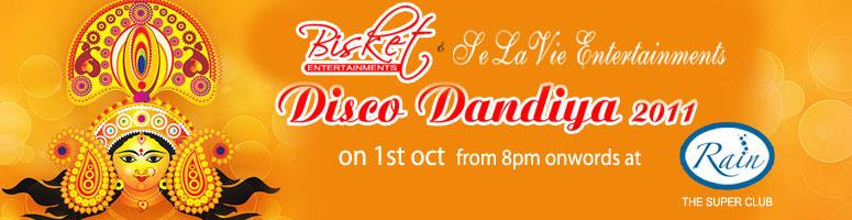 Disco Dandiya 2011 @ Rain Club, Hyderabad