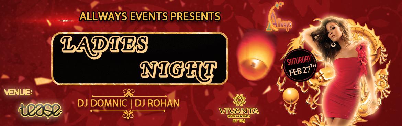 Ladies Night with Fashion Show at Taj Vivanta