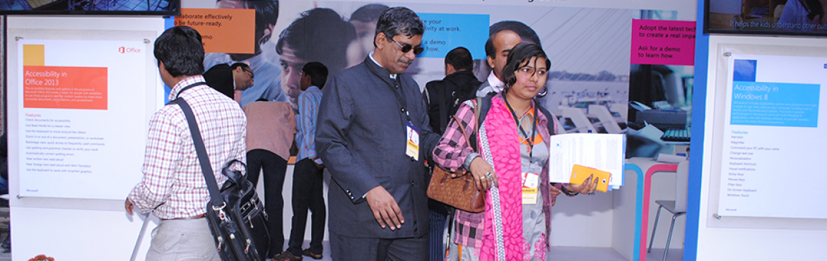 Techshare India 2016 - Assistive Technology Exhibition
