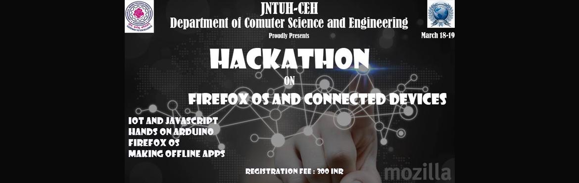 Hackathon on Firefox OS and Connected Devices