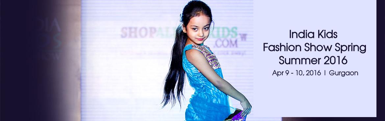 India Kids Fashion Show Spring- Summer 2016, Gurgaon