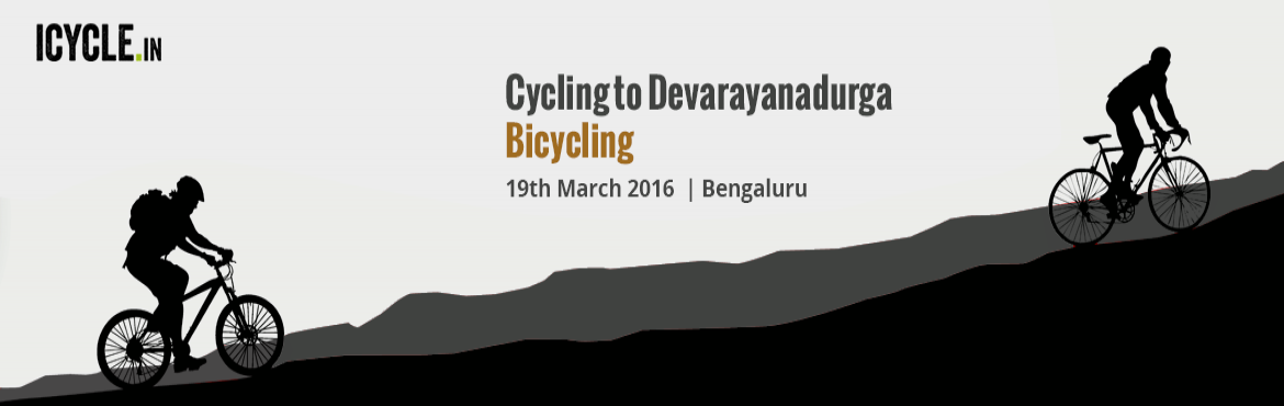 Cycling to Devarayanadurga Bicycling Event