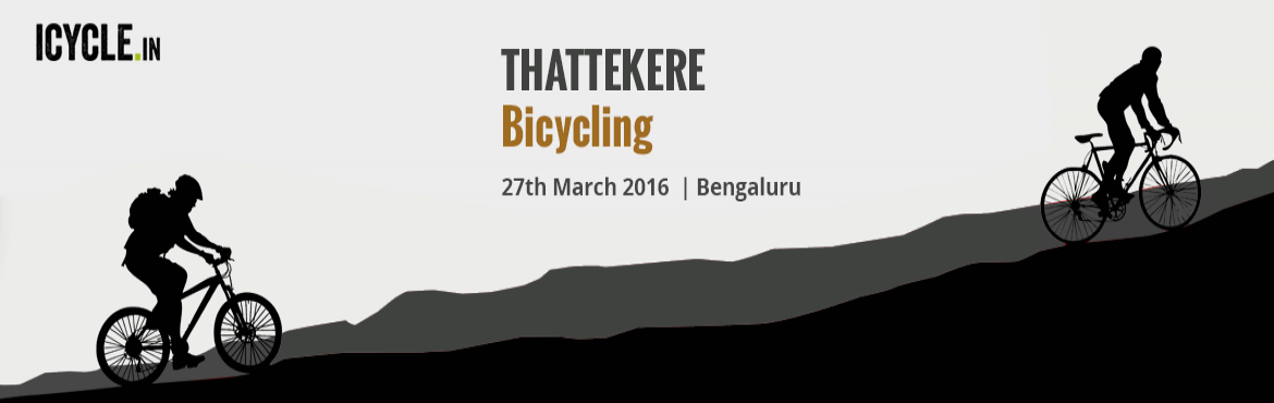 THATTEKERE Bicycling Event 27-MAR-2016
