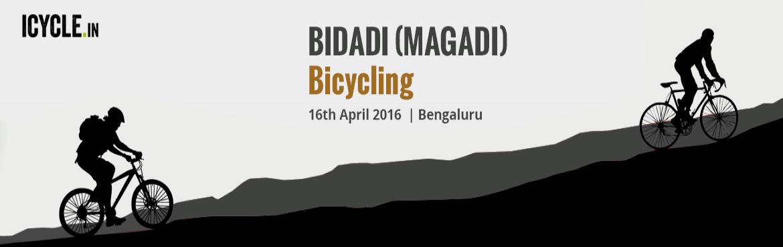 BIDADI (MAGADI) Bicycling Event 16-APR-2016