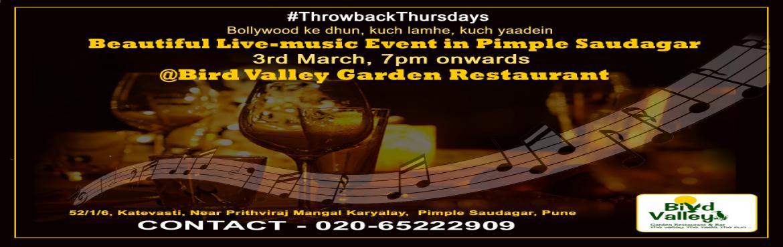 Bollywood live music Thursday events in Pimple Saudagar