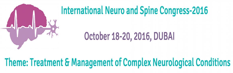 International Neuro and Spine Congress 2016