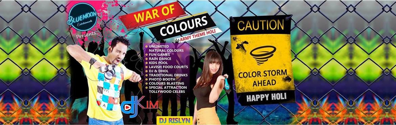 WAR OF COLOURS (Army Theme Holi)