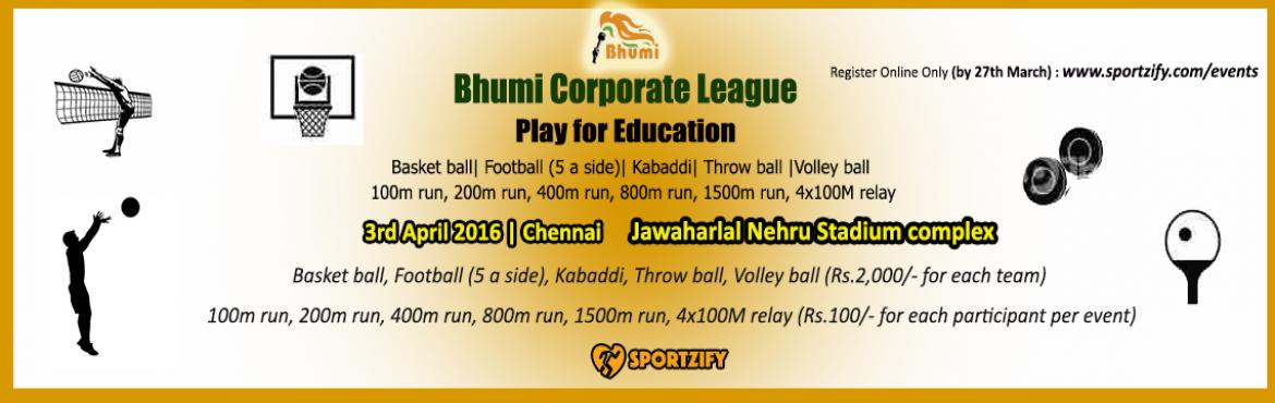 Bhumi Corporate League