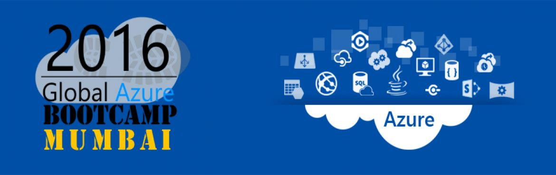 Global Azure BootCamp 2016, MUMBAI