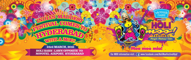 The Holi Moo Festival 2016 - Hyderabad