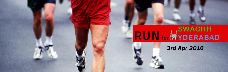 Run For Swachh Hyderabad