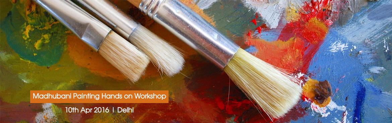Madhubani Painting Hands on Workshop