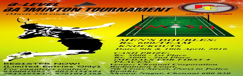SMASH- IV(Badminton Tournament)