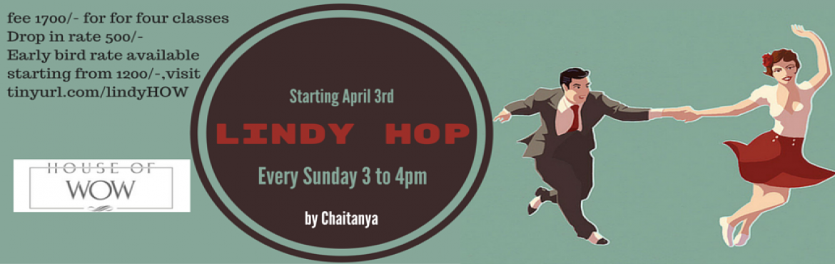 Lindy Hop @ the House of Wow