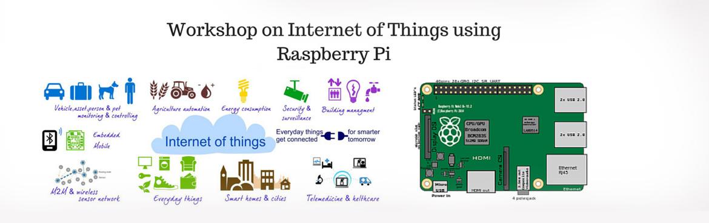 Workshop on Internet of Things Using Raspberry Pi
