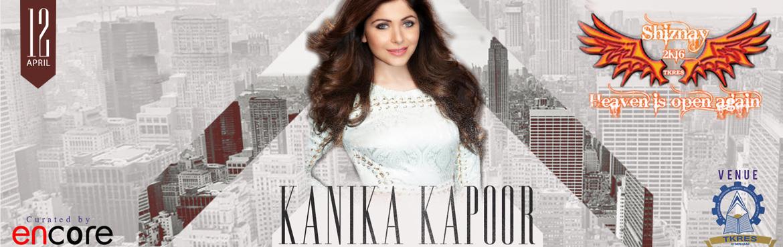 SHIZNAY 16 - Kanika Kapoor and DJ Rink Live at TKR college