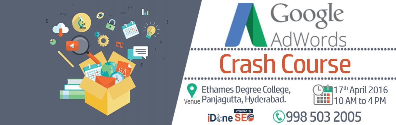 Google Adwords Crash Course