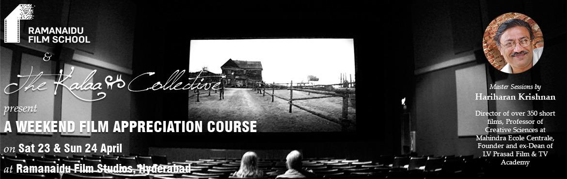 Revisiting the Magic of Cinema - A Weekend Film Appreciation Course