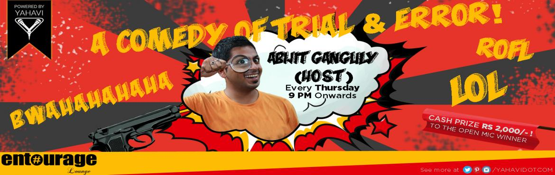 Open Mic Comedy at Entourage, New Delhi