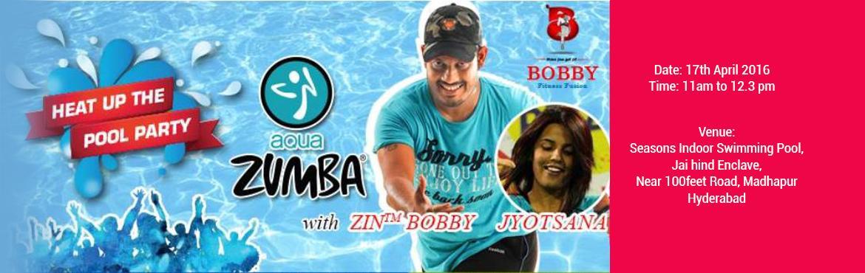 Aqua Zumba Pool Party with BOBBY