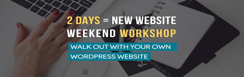 2 Day Website Creation Workshop