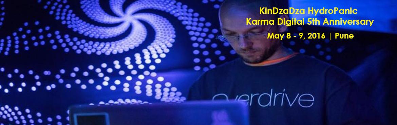 KinDzaDza HydroPanic and More Karma Digital 5th Anniversary Promo Gig