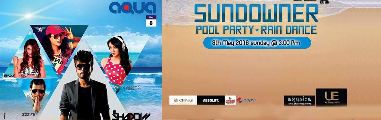 Aqua Sundowner Pool Party and Rain Dance