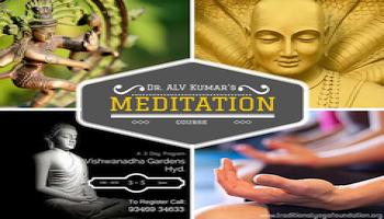 3 Days Silent Meditation Course with Dr. ALV Kumar