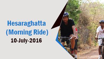 HESARAGHATTA (MORNING RIDE) 10-JUL-2016