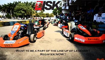 International Series of Karting Bangalore 2016