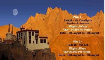 LEH LADAKH - Experience the ADVENTURE