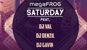 megaFROG Saturday feat. DJ VAL, DJ Denzyl, DJ Gavin