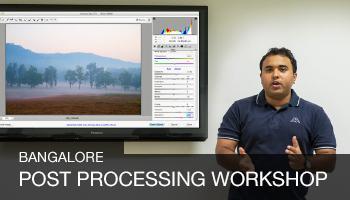 Digital Post Processing Workshop, Bangalore