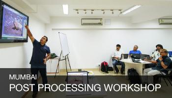 Digital Post Processing Workshop, Mumbai