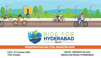 RIDE FOR HYDERABAD