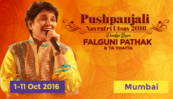 Pushpanjali Navratri Utsav 2016 with Falguni Pathak