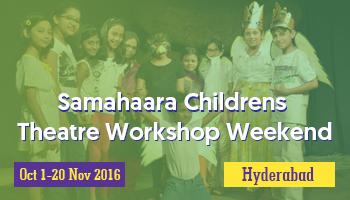 Samahaara Childrens Theatre Workshop Weekend