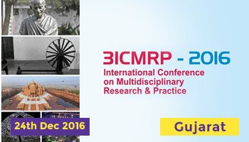 3rd International Conference on Multidisciplinary Research Practice (3ICMRP-2016)