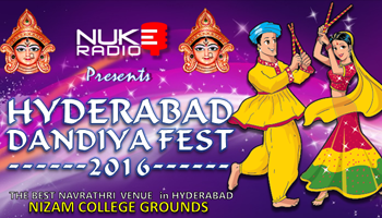 Hyderabad Dandiya Fest 2016 at Nizam College Grounds