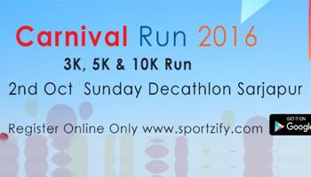 Carnival Run 2016 - Decathlon Sarjapur