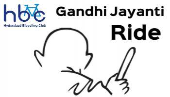 Gandhi Jayanti Ride