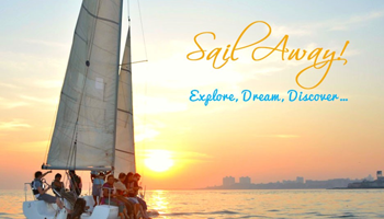 Experience sailing at Gateway of India. Book a 25ft long yacht for half the price.