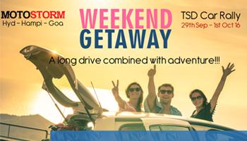 Hyd - Goa TSD Rally by MotoStorm