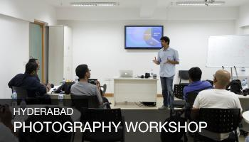 Art and Science of Photography Workshop, Hyderabad