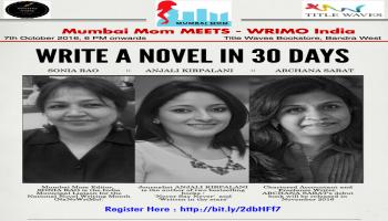 Mumbai Mom MEETS : Write a Novel in 30 Days